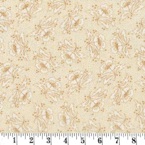 AF240 Butter Churn - Tan Floral preview