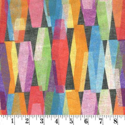 """AF243 Extra Wide Backing - Multi Colour 108"""" preview"""