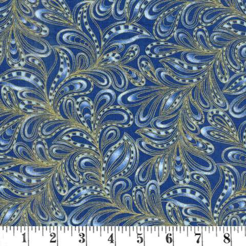AF283 Cat-I-tude 2 PurrFect - Feathery Paisley preview