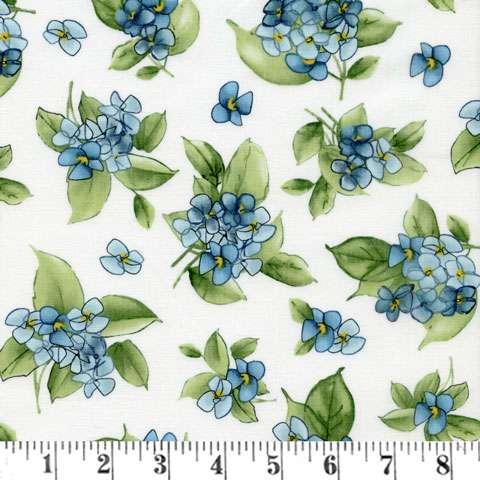 AF288 Watercolor Hydrangeas - Posy preview