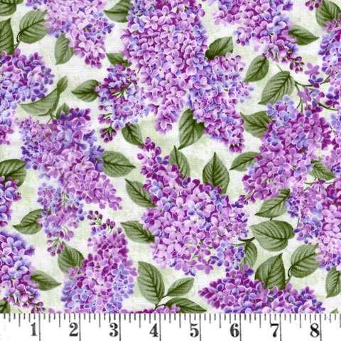 AF293 Lilacs In Bloom - Sage preview