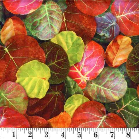 AF325 Leaf Me Be - Amazon Leaves - Digital preview