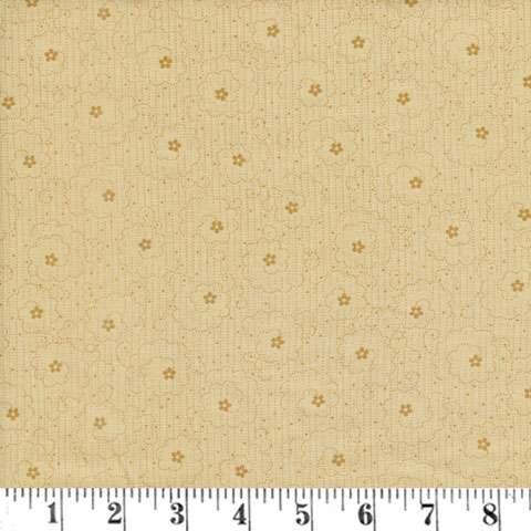 AF328 Linen Closet - Tan Swirl Flower Dot preview