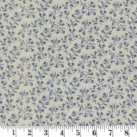 AF350 Mrs Millers Apprentice - Blue Floral preview