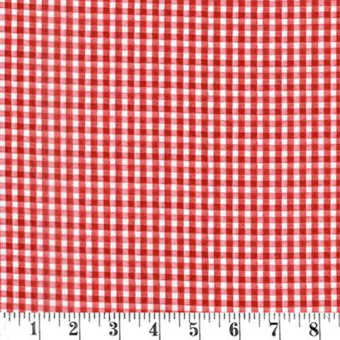 AF353 Berry Sweet - Red Gingham preview