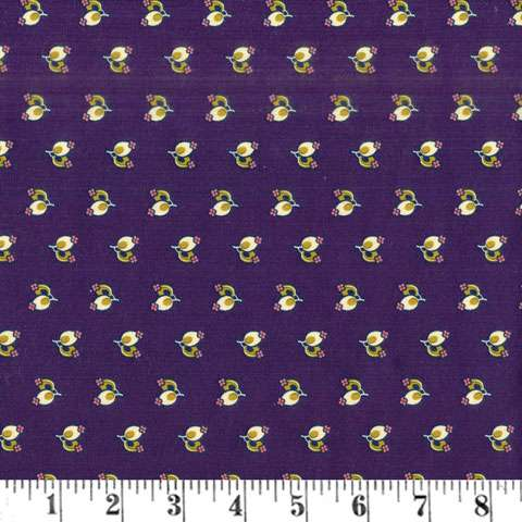 AF369 A Soldiers Quilt - Purple Buds preview