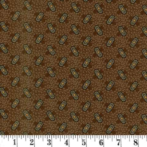 AF385 Pam's Prairie Basics - Brown Reproduction preview
