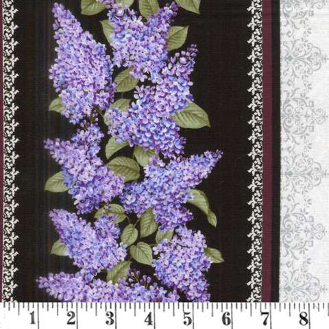 Lilacs in Bloom - Border preview