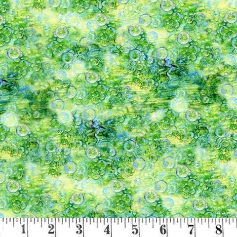 AF613 Mystic Ocean - Green Bubbles preview