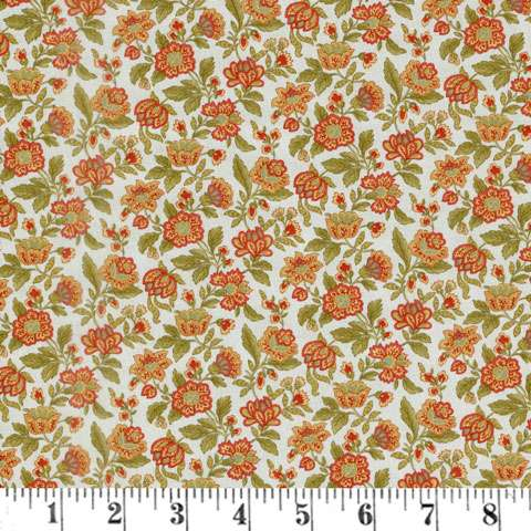 AF626 Rosewood - Packed Floral  preview