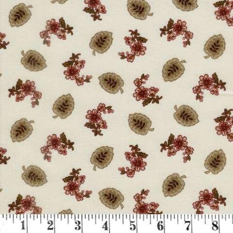 AF639 Buttermilk Blossoms - Cream Leaf preview