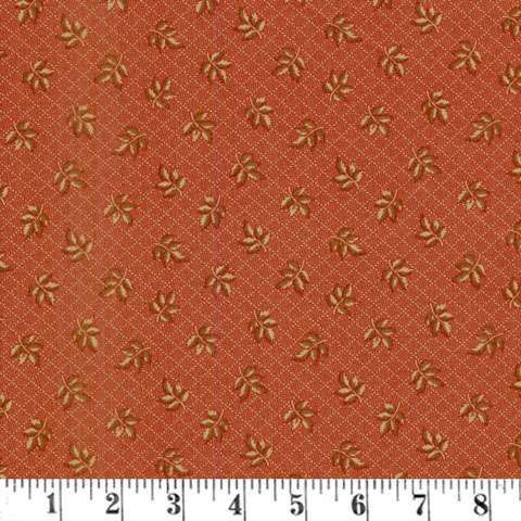 AF776 Hickory Road - Leaves - Brick Red preview