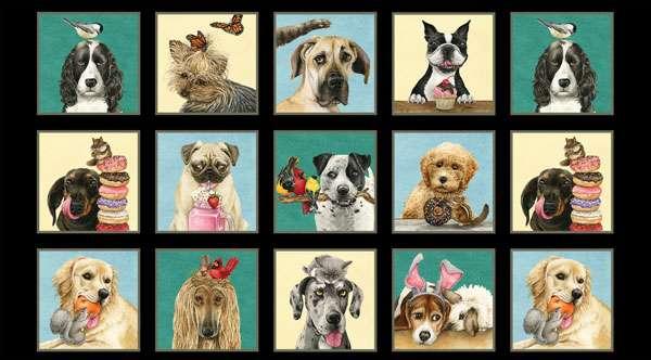 AF839 Doggie Drama - Panel preview