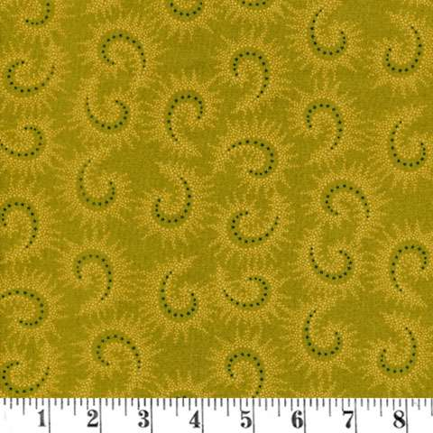 AF863 Sage & Sea Glass - Green Paisley preview