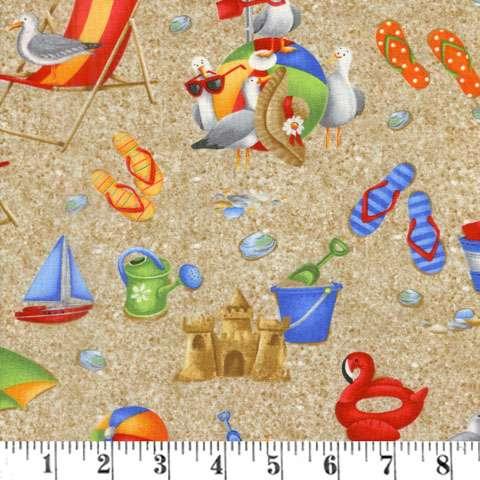 AG087 Wade & Sea - Allover Beach Items preview