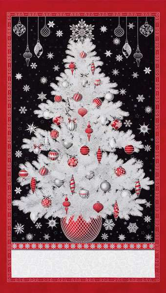 AG302 Holiday Flourish - Winters Grandeur Panel preview