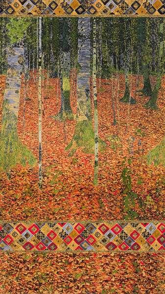 AG326 Gustav Klimt - Autumn - The Birch Wood Panel preview