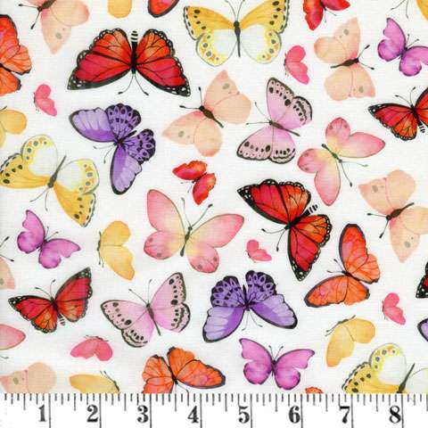 AG337 April Showers - Allover Butterflies preview