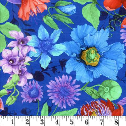 AG421 Fairy Fantasy - Large Allover Floral preview