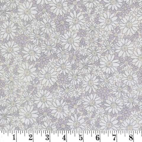 AG463 Peaceful Petals - Light Grey Daisies preview