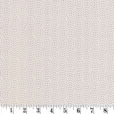 AG465 Peaceful Petals - Taupe Wavy Grid preview