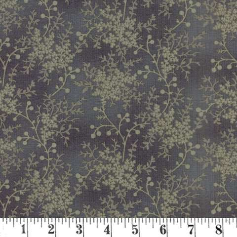 AG484 Reeds Legacy - Charcoal Floral Vine preview