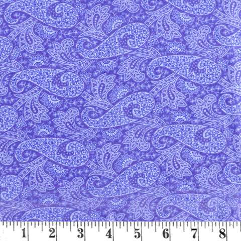 AG502 Hat Box - Blue Paisley 117 preview