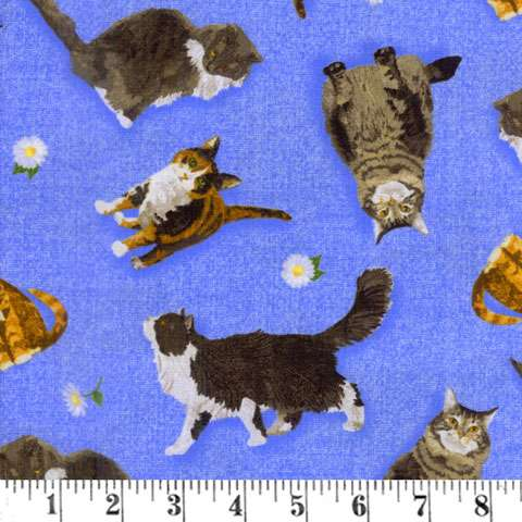 AG568 Meow Meadow - Allover Cats preview