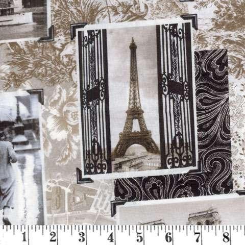 AG717 Antique Paris Noir Portraits preview