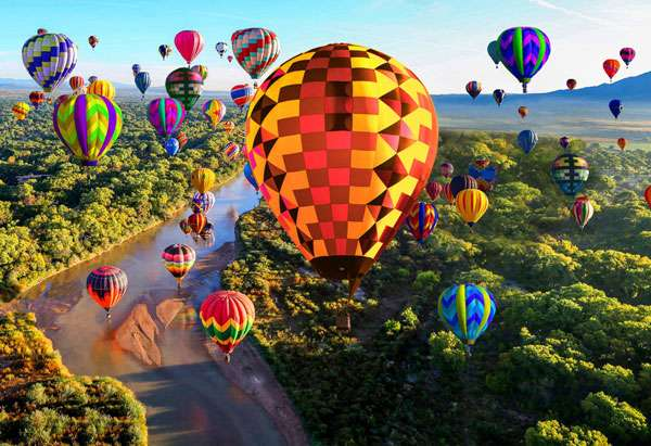 AG796 Up & Away - Spectrum Balloons Digital Panel 70cm preview