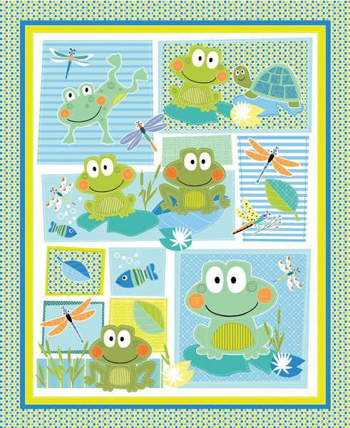 AG797 Toadily Cute - Panel 90cm preview