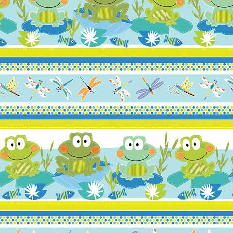 AG798 Toadily Cute - Border preview