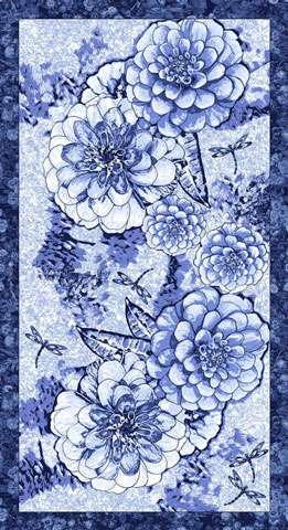 AG838 Once In A Blue Mood Panel 60cm preview