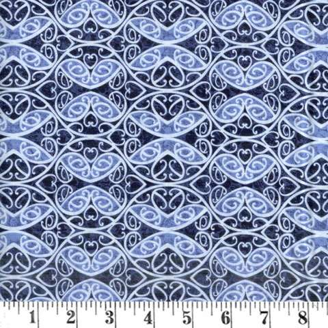AG841 Once In A Blue Mood - 9739-77 preview