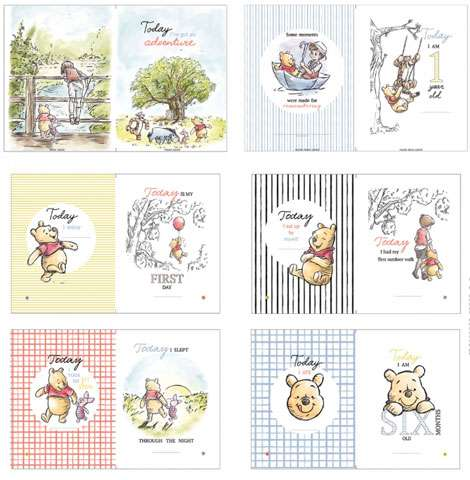 Winnie the Pooh Panel featuring images for your Sketch Book 90cm preview