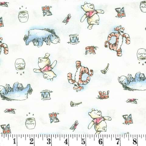 AG861 Winnie the Pooh preview