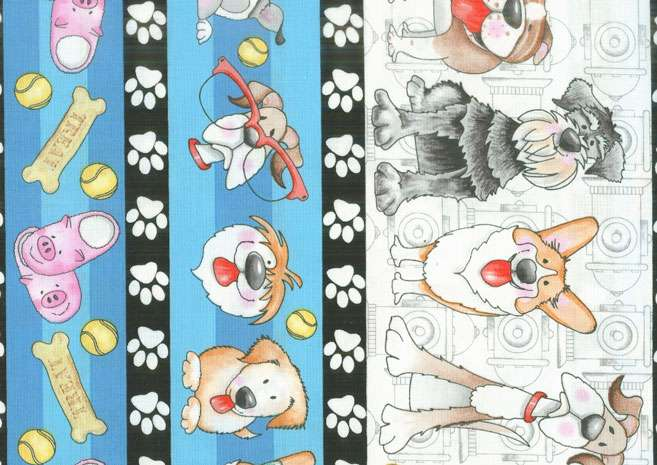 AG865 Dog Gone Fun - Border preview