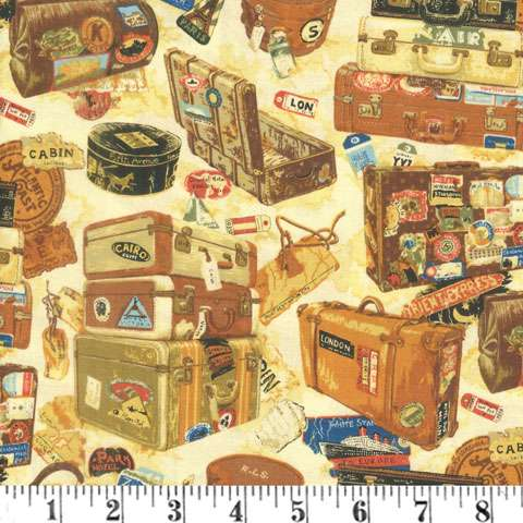 AG878 Victorian Vintage - Back in Time - Baggage preview