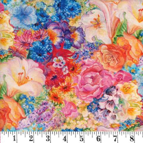 AG905 Ray of Hope - Floral Digitally Printed preview