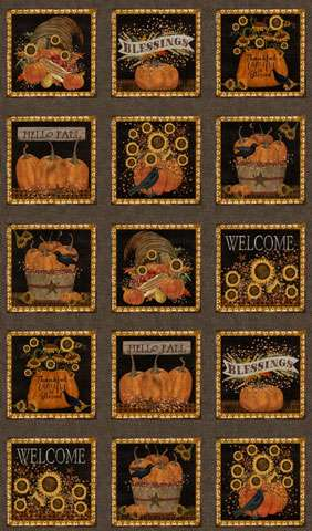 AH013 Welcome Fall - Panel 60 cm Repeat preview