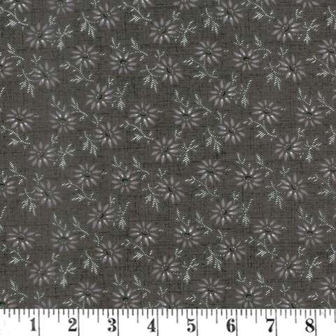 AH147 Blackwood Cottage - Small Floral Dark Gray preview