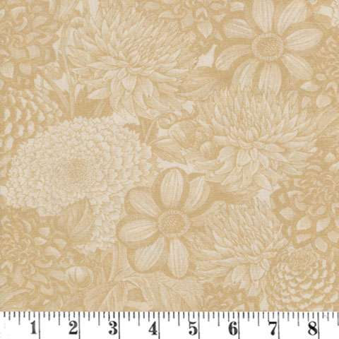 """AH225 Extra Wide Backing - Ivory Essential Toile 108"""" preview"""