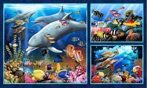AH521 - Underwater Fantasy - 60cm Digital Panel preview