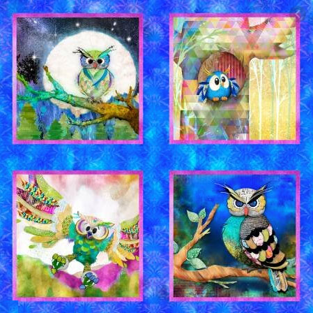 AH524 - Go Owl Out! - 90cm Panel preview