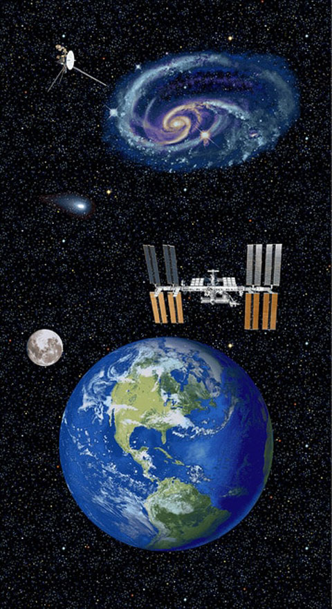 AH672 Planetary Mission - Earth Panel 60cm preview