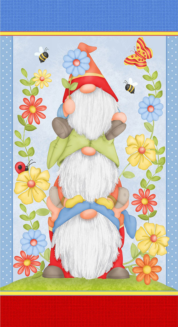 AH793 Gnome is Where the Garden Grows - Panel 60cm preview
