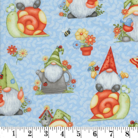 AH795 Gnome is Where the Garden Grows - Blue Large Gnomes preview
