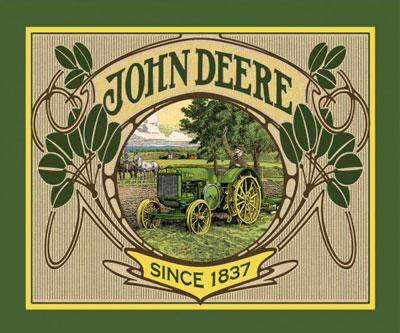 AH838 John Deere - Panel 90cm  preview