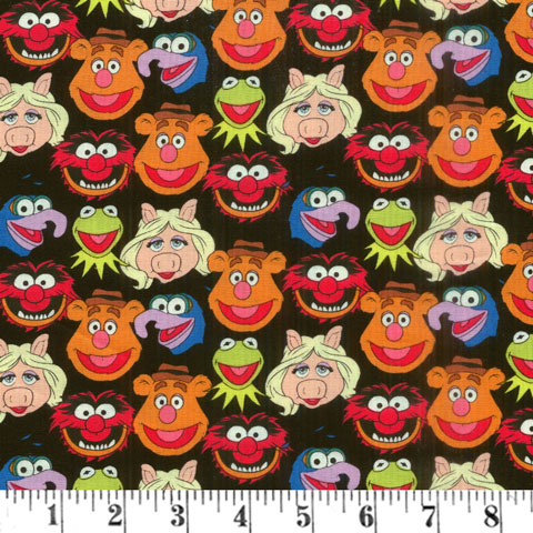 AH917 Disney Fabric - The Muppets - Cast preview