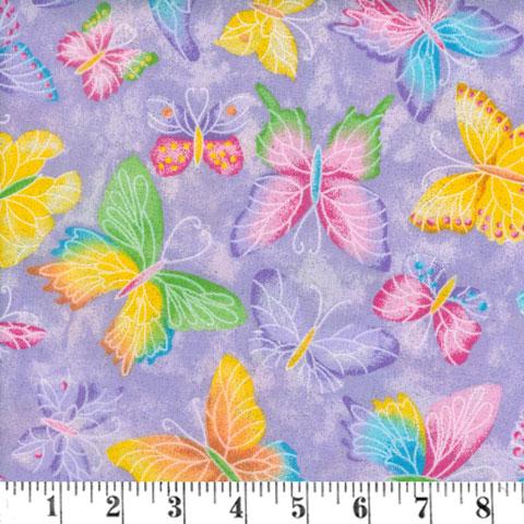 AH994 Butterfly Glitter preview